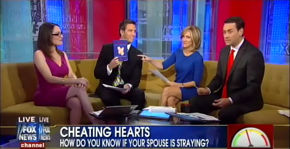 Dr Karen on FOX and Friends discussing the cheater meter & Dr. Karen's Marriage Manual