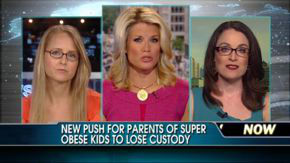 Dr Karen on FOX America Live discussing should government take custody of obese children