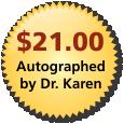 Autographed copy for $21.00