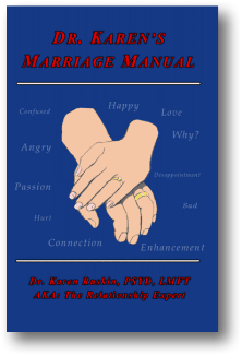 Dr. Karen's Marriage Manual book cover