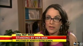 Dr. Karen discussing the Anthony Weiner sexting scandal on Good Morning America