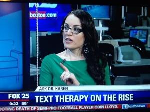 Text Therapy -Ask Dr Karen