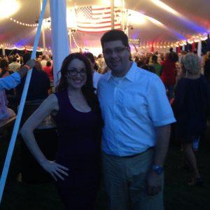 Karen & Seth Ruskin at Trump Rally