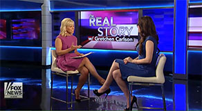 Dr. Karen Ruskin with Gretchen Carlson