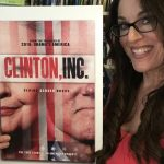 Clinton inc poster with Dr Karen