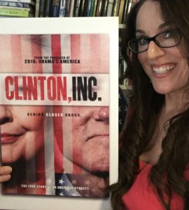 Clinton inc poster with Dr Karen