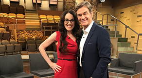 Dr. Karen Ruskin on the Dr. Oz Show discussing Roseanne Barr